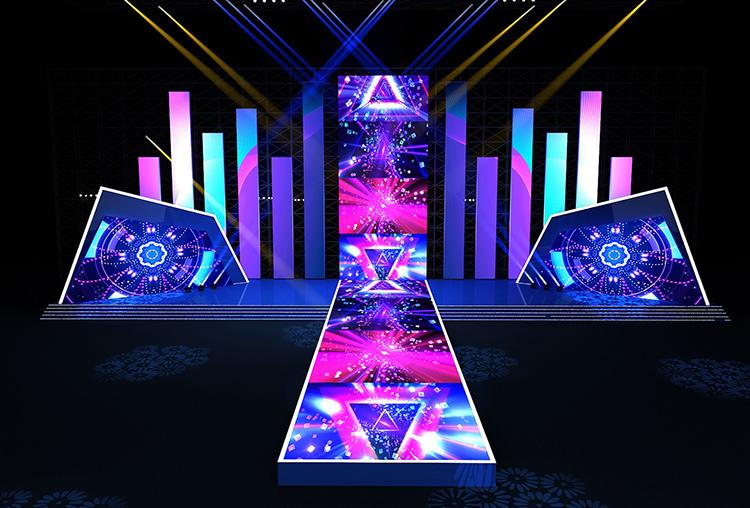 深圳年会舞美设计舞台设计3